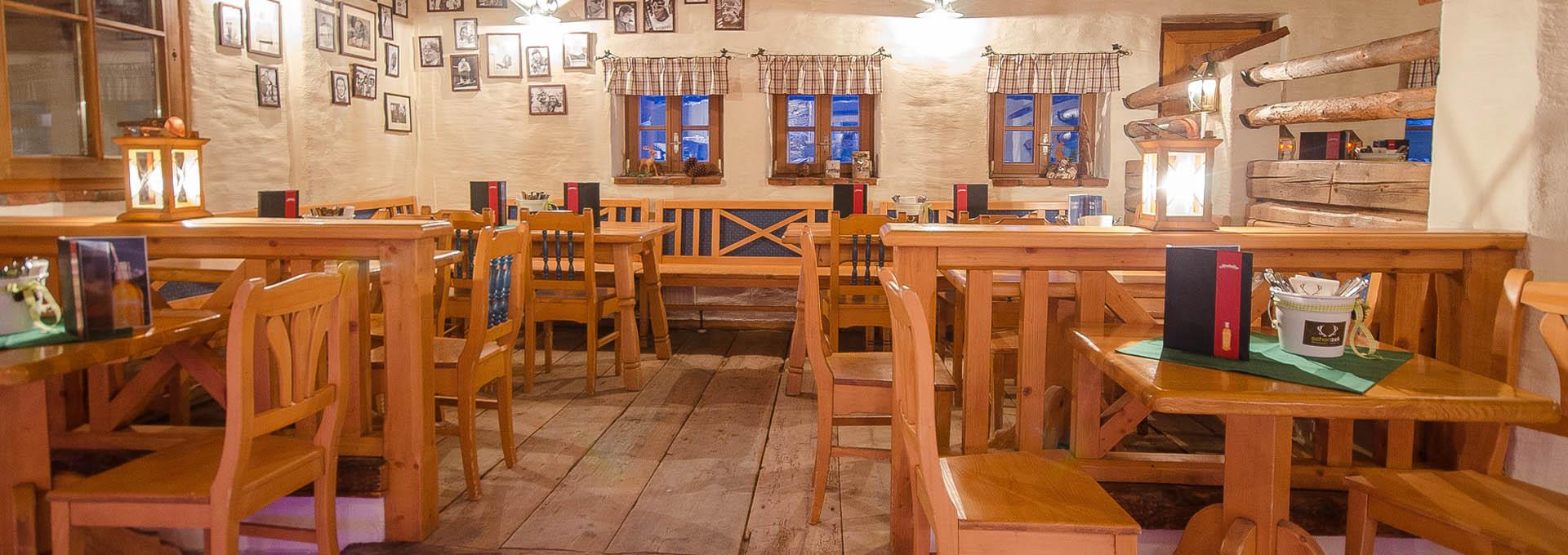 Skihütte Restaurant in Flachau - Schonzeit