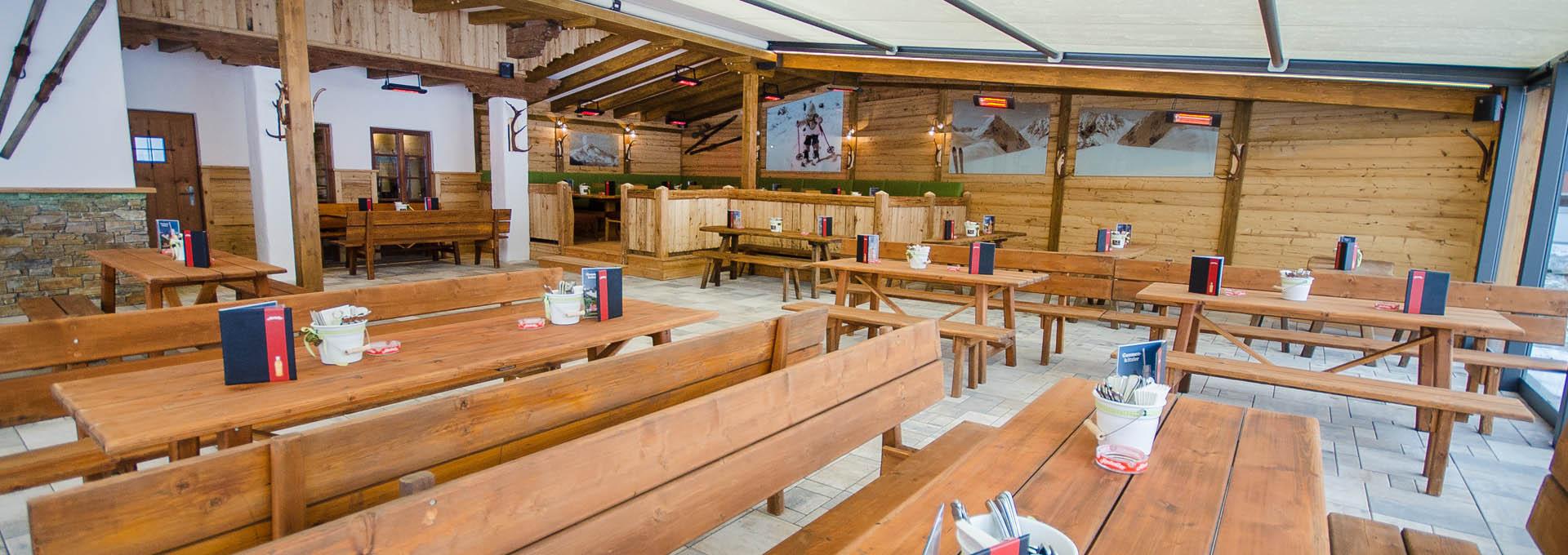 Restaurant in Flachau - Schonzeit - Skihütte Flachau